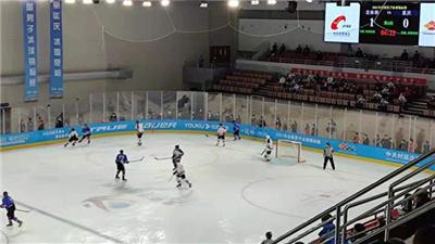 北京體育職業學院隊衛冕全國男子冰球錦標賽