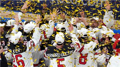 走近冬奧 加拿大隊獲得2021年冰球世錦賽冠軍