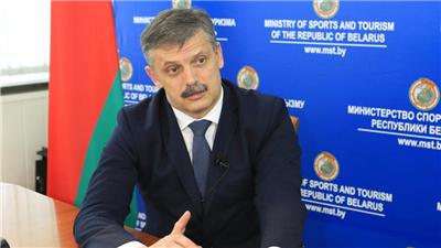 走近冬奧 期待北京舉辦高水平的冬奧會——專訪白俄羅斯體育與旅遊部長科瓦利丘克