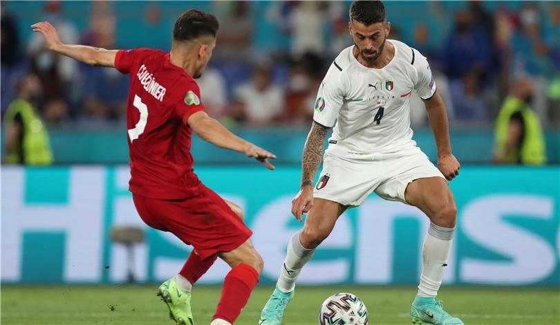 歐錦賽揭幕戰:意大利勝土耳其