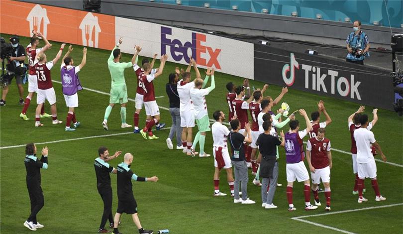 歐錦賽小組賽:奧地利隊晉級16強