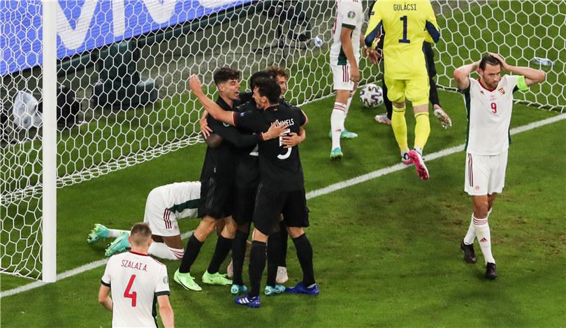 歐錦賽:德國隊晉級16強