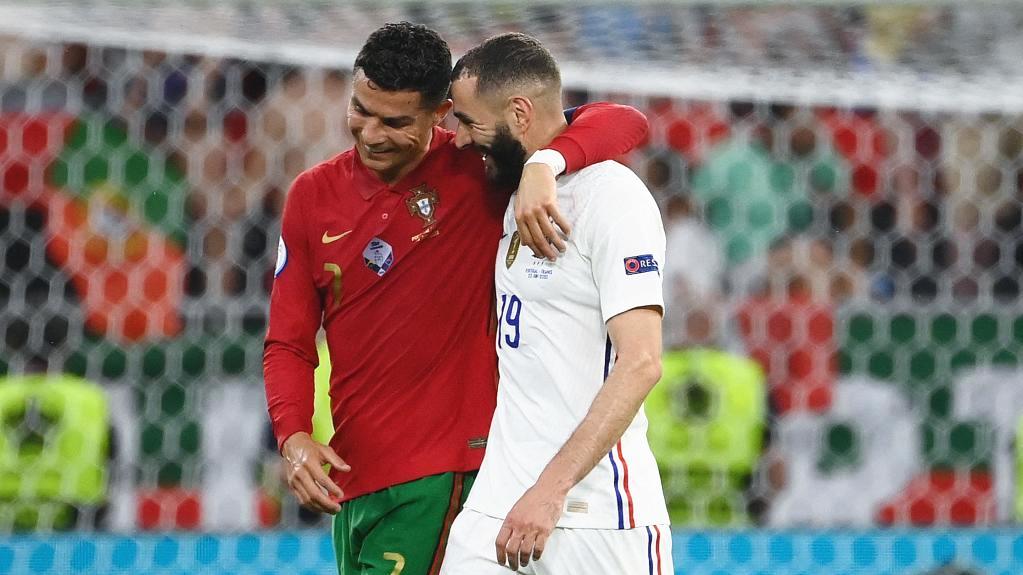 一對老友成主角 法國、葡萄牙攜手出線