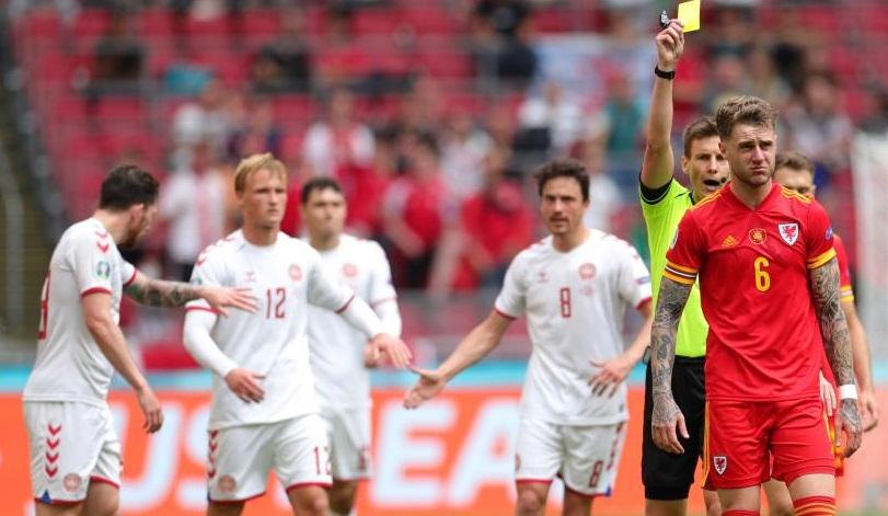 歐錦賽:丹麥勝威爾士 晉級八強