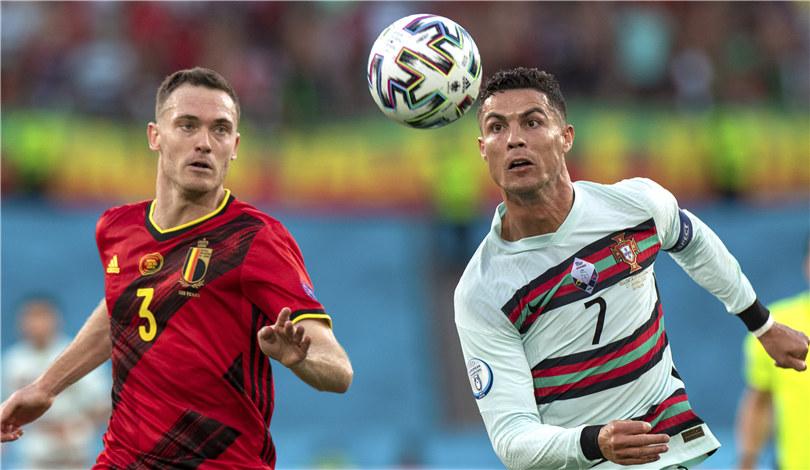 歐錦賽:比利時淘汰葡萄牙晉級八強