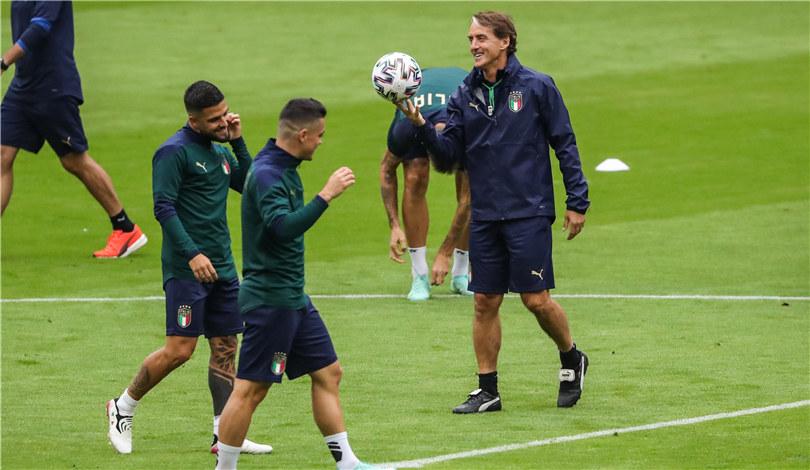 歐錦賽:意大利隊備戰四分之一決賽