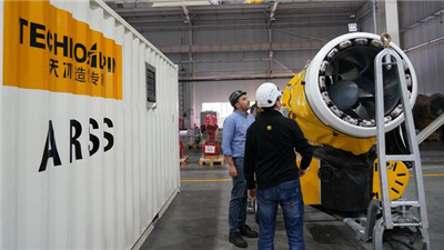 一個意大利造雪設備制造商的中國情結