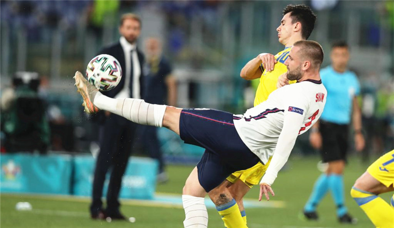 歐錦賽:英格蘭隊晉級四強