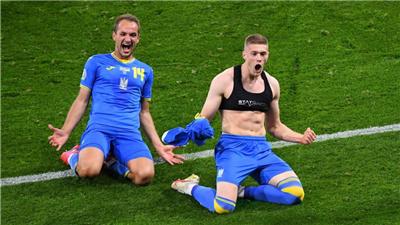 加時鏖戰 烏克蘭絕殺瑞典