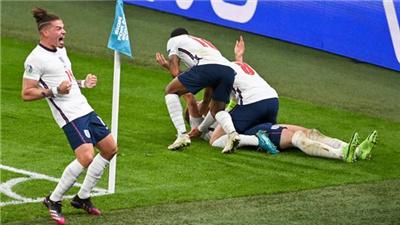 加時反超丹麥 英格蘭首進歐錦賽決賽