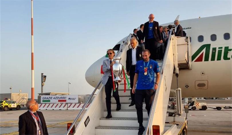 歐錦賽:意大利隊凱旋