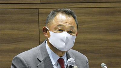 """日本奧委會主席山下泰裕:""""開幕式上聖火點燃的時候,我或許會流淚"""""""