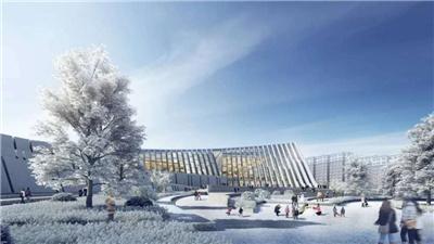 走近冬奧 崇禮華僑冰雪博物館主體結構完工
