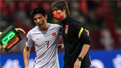 中國男足多哈首練 武磊回歸很興奮