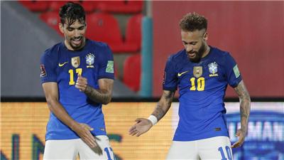 巴西男足全員到齊備戰世預賽