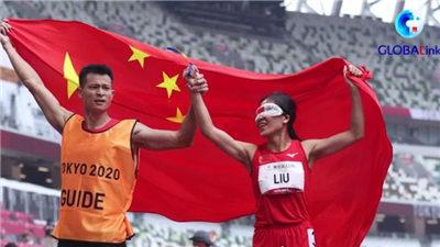 全球連線 | 盲人領跑員徐冬林:我的使命就是讓她勇敢奔跑