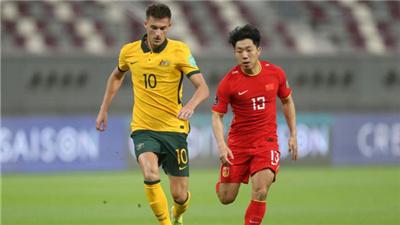 12強賽首戰國足0:3不敵澳大利亞