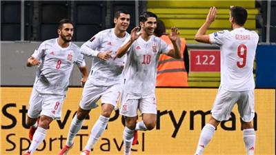 世預賽歐洲區綜合:西班牙遭逆轉不敵瑞典,英格蘭、比利時大勝