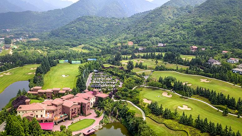 西安秦嶺國際高爾夫球場