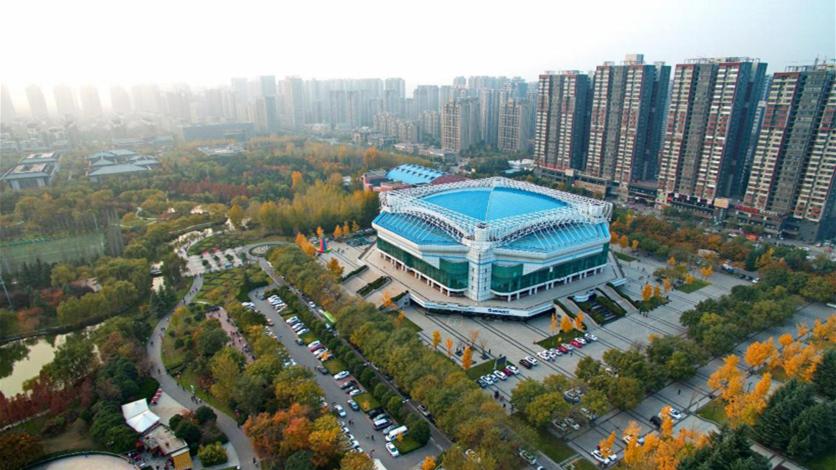 西安城市運動公園體育館