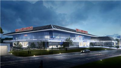 韓城西安交大基礎教育園區體育館