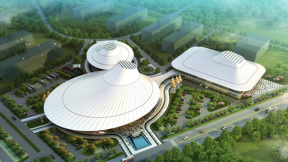 榆林職業技術學院體育館