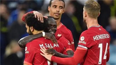 英超單場:利物浦完勝利茲聯