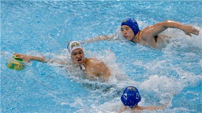 廣東隊獲得全運會男子水球冠軍