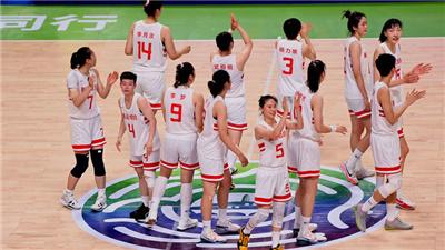聯合隊大勝江蘇隊獲十四運會女籃成年組冠軍