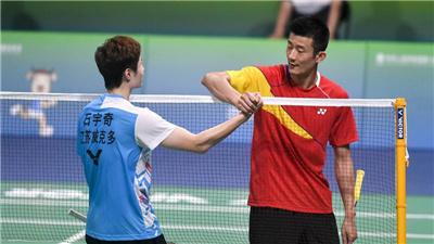 羽毛球男單半決賽不敵石宇奇 諶龍期待明年亞運會