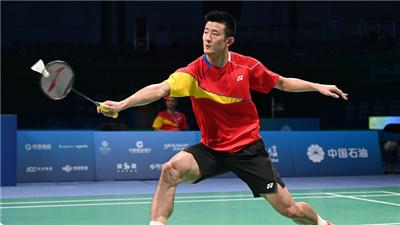 羽毛球半決賽諶龍不敵石宇奇 江蘇隊鎖定男單冠軍
