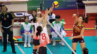 江蘇隊奪全運會女排19歲以下組冠軍