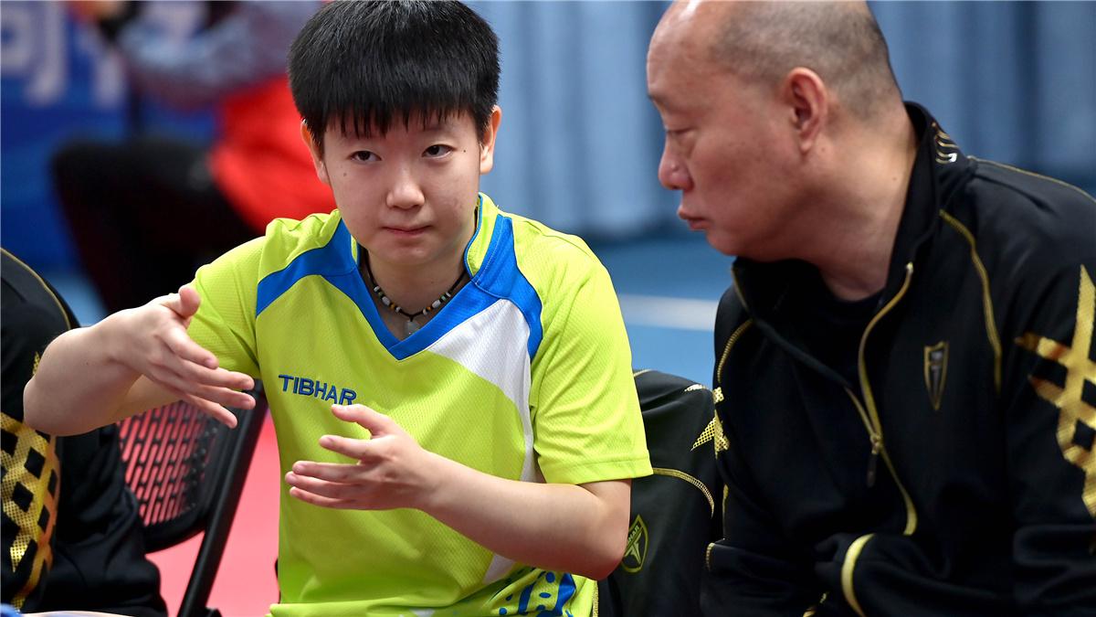 全運會-乒乓球女團第一階段:河北隊勝河南隊