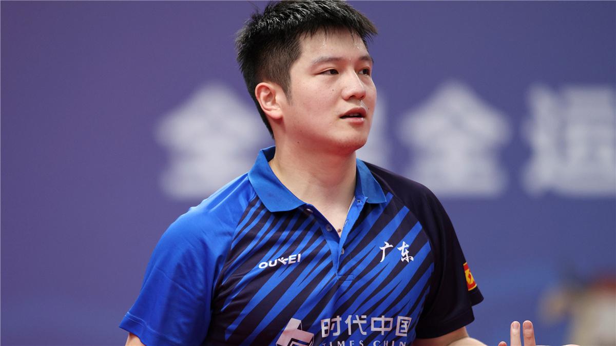 全運會-乒乓球男團第一階段:廣東隊勝天津隊