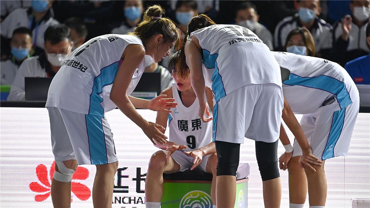 全運會-三人籃球女子19歲以下組1/4決賽:廣東隊勝四川隊