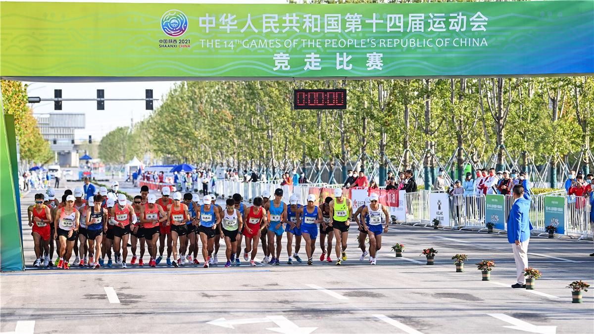 全運會-田徑:張俊獲男子20公裏競走冠軍