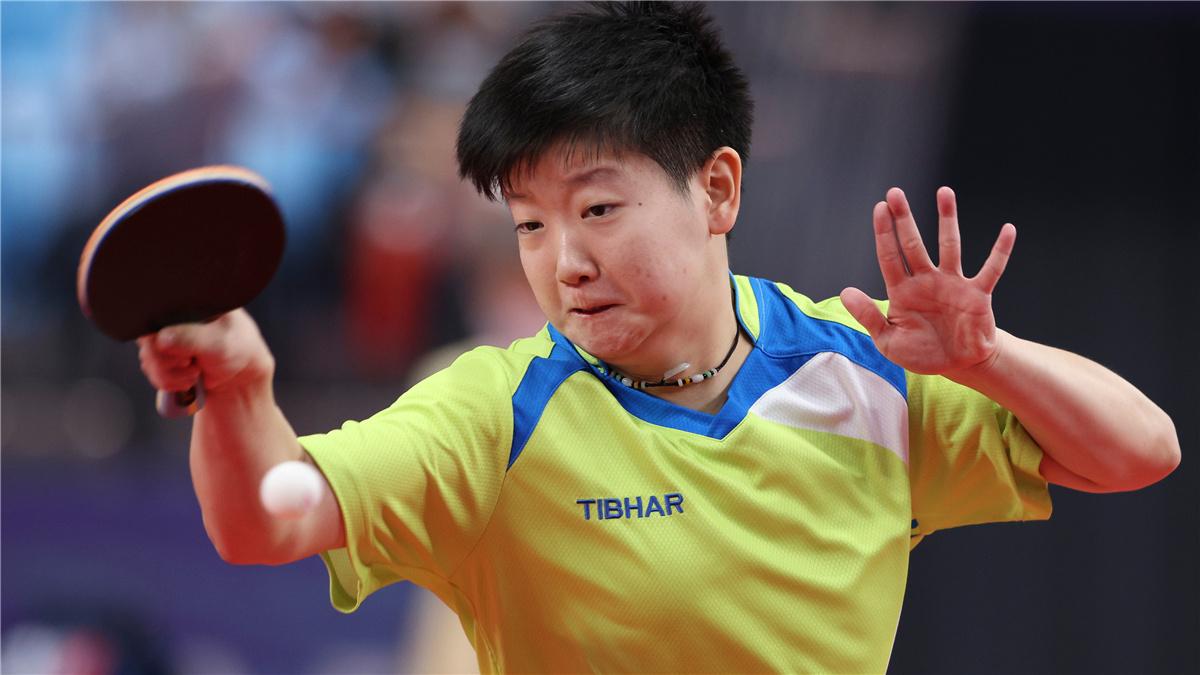 全運會-乒乓球女團:河北隊晉級四強