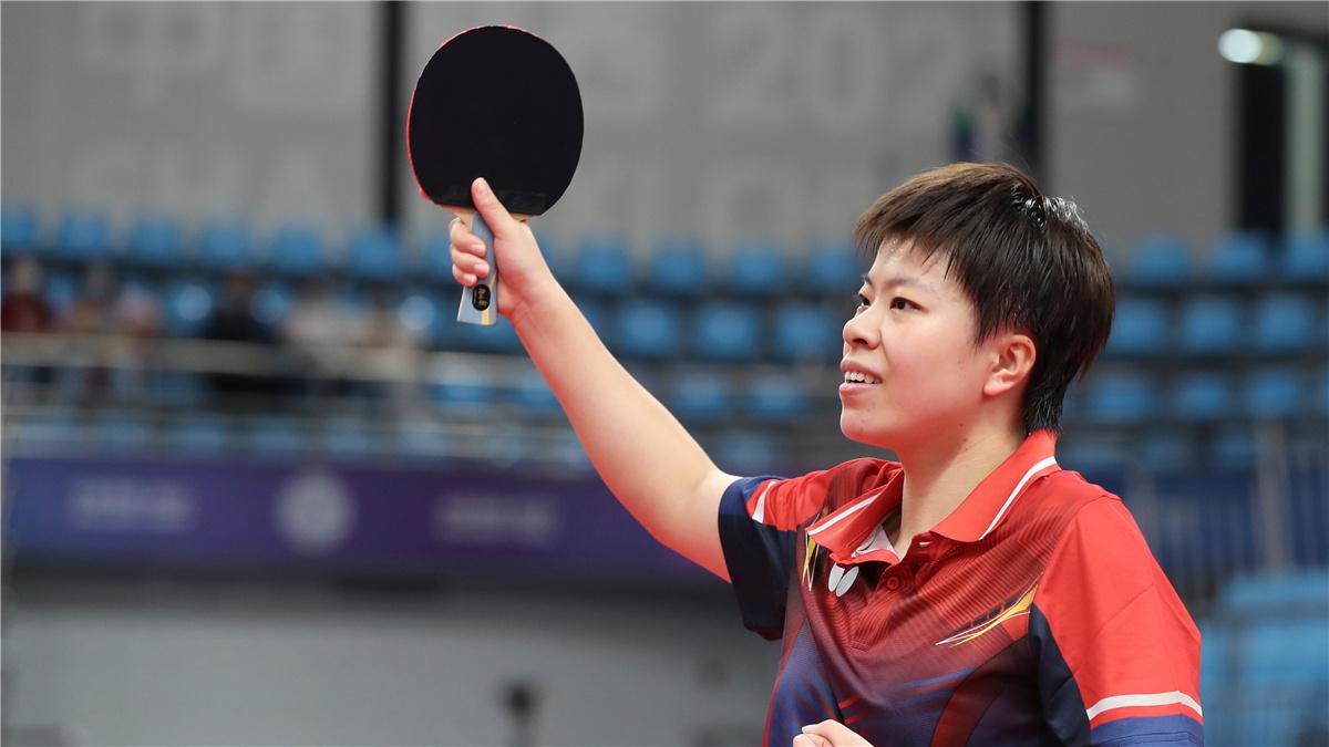 全運會-乒乓球女團:遼寧隊晉級四強