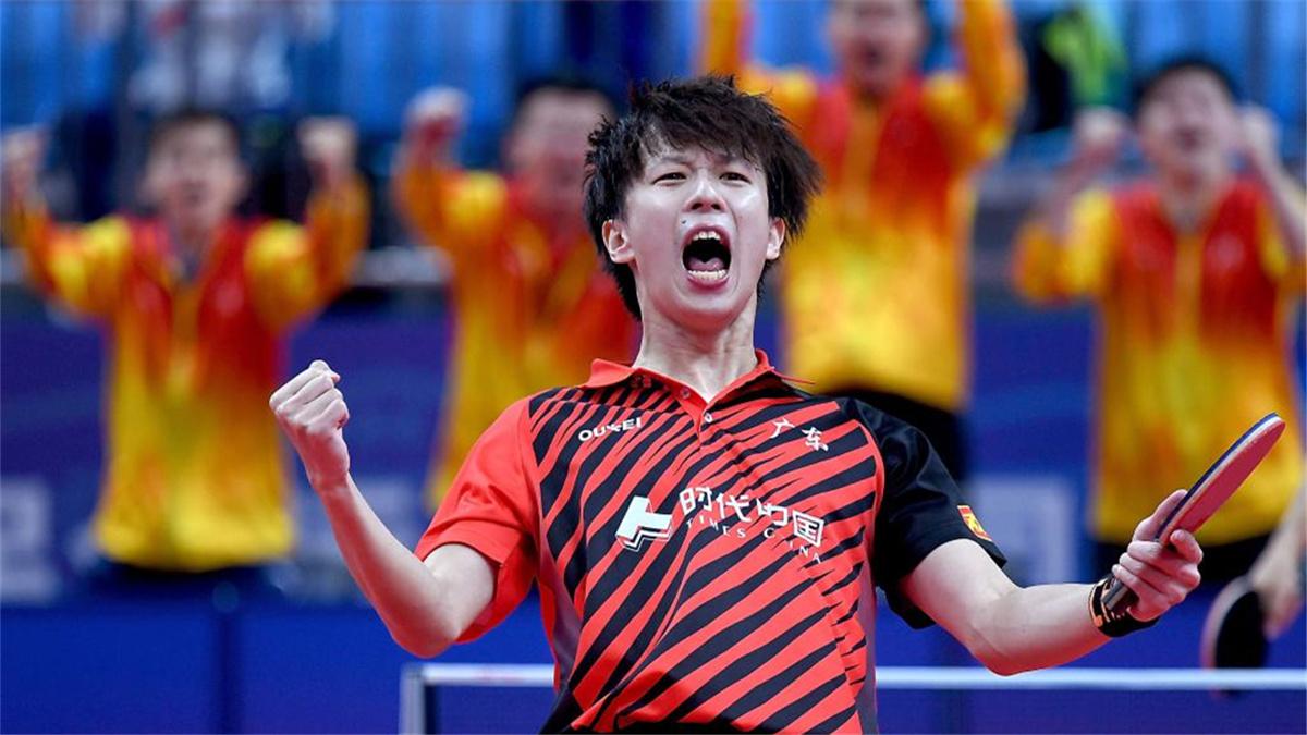 全運會-乒乓球男子團體:廣東隊勝河北隊晉級決賽