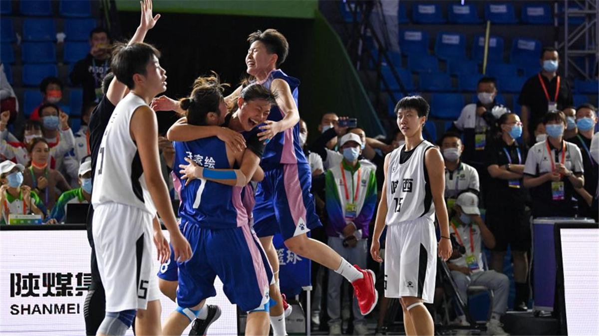 全運會-三人籃球女子19歲以下組:山東隊奪冠
