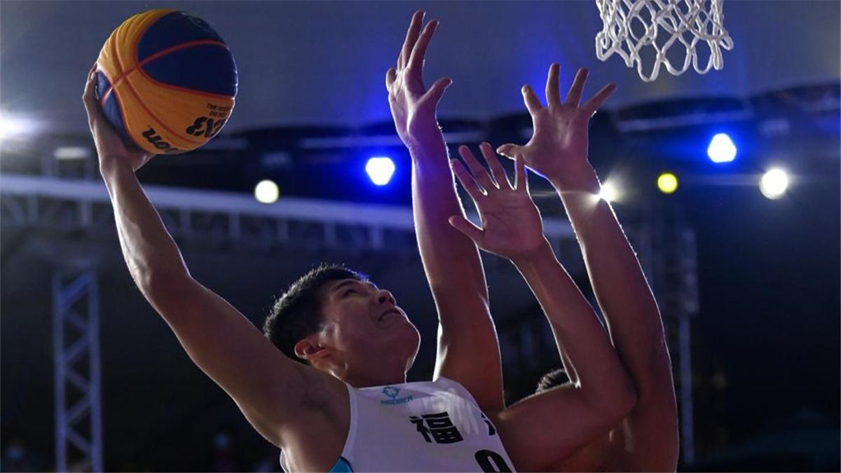 全運會-三人籃球男子19歲以下組:湖北隊奪冠