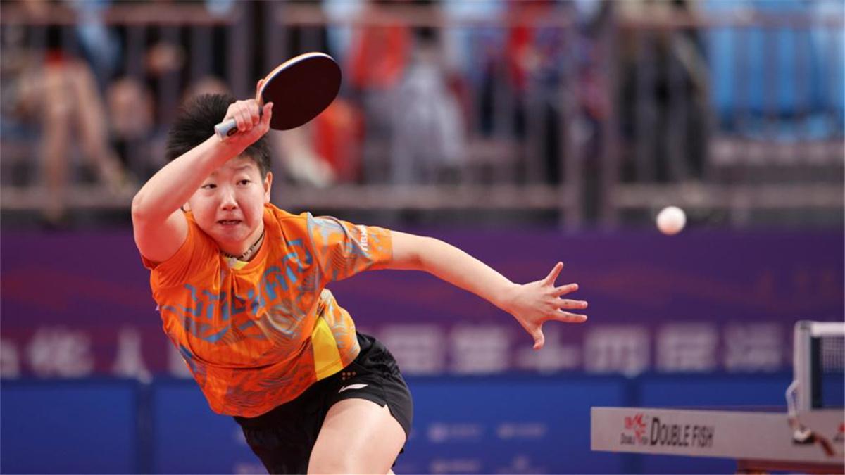 全運會-乒乓球女團:河北隊獲得銅牌