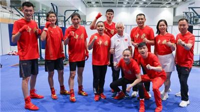 中國拳擊隊東京奧運會六將全運齊摘金