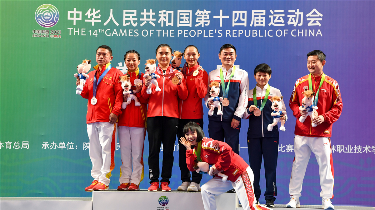 全運會-拳擊女子51公斤級:常園奪冠