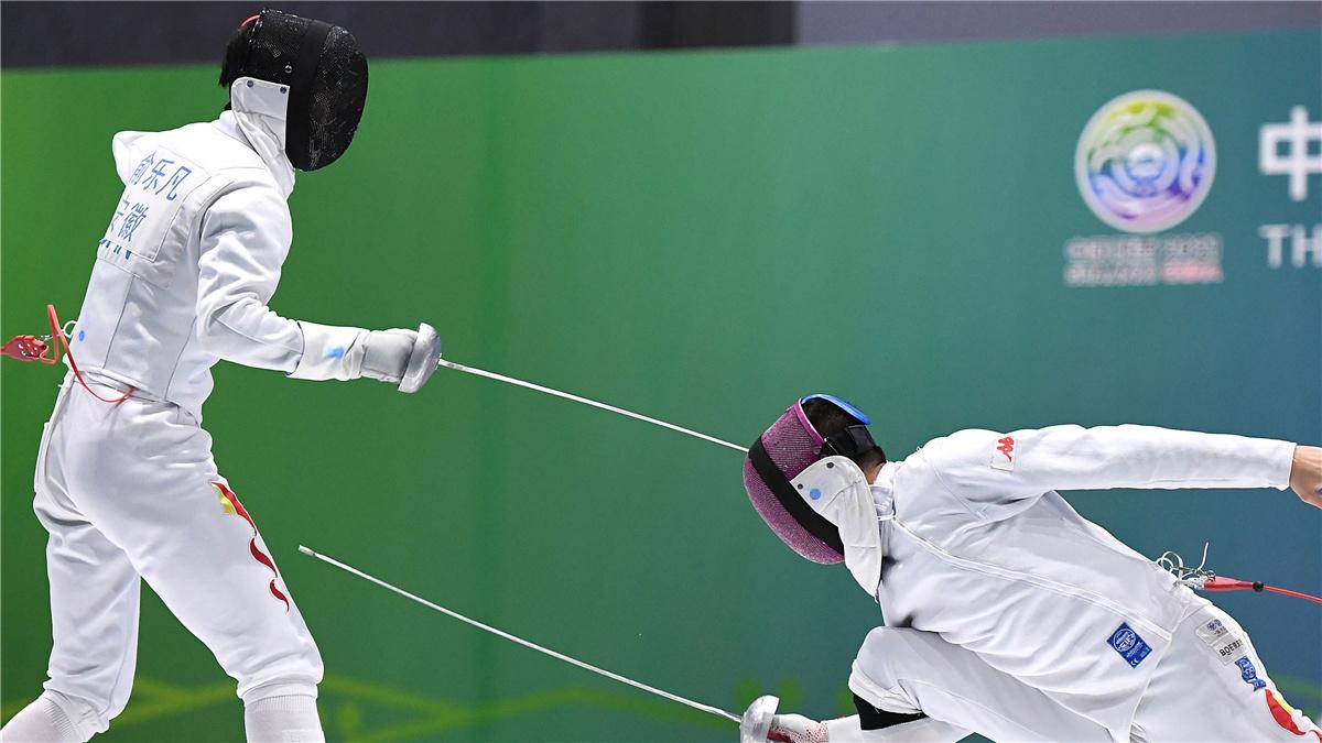 全運會-擊劍男子重劍個人賽:蘭明豪奪冠