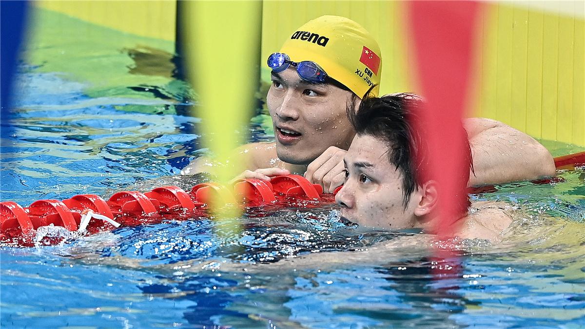 全運會-遊泳:徐嘉余奪得男子100米仰泳冠軍