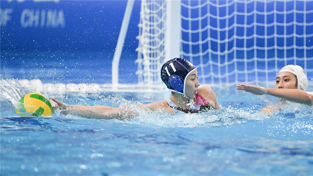 全運會-水球女子半決賽:湖南隊晉級決賽