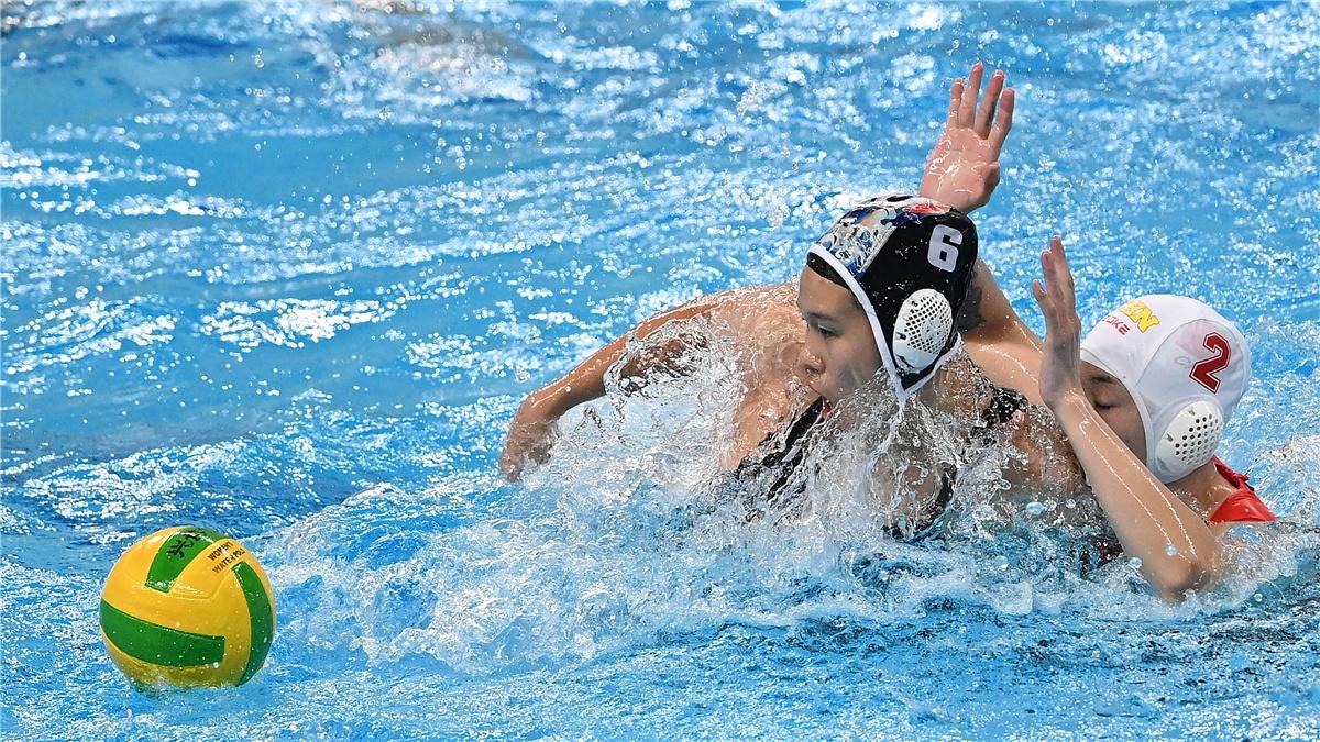 全運會-水球女子半決賽:聯合隊晉級決賽