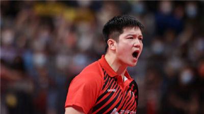 樊振東:戰勝馬龍是我一直的渴望