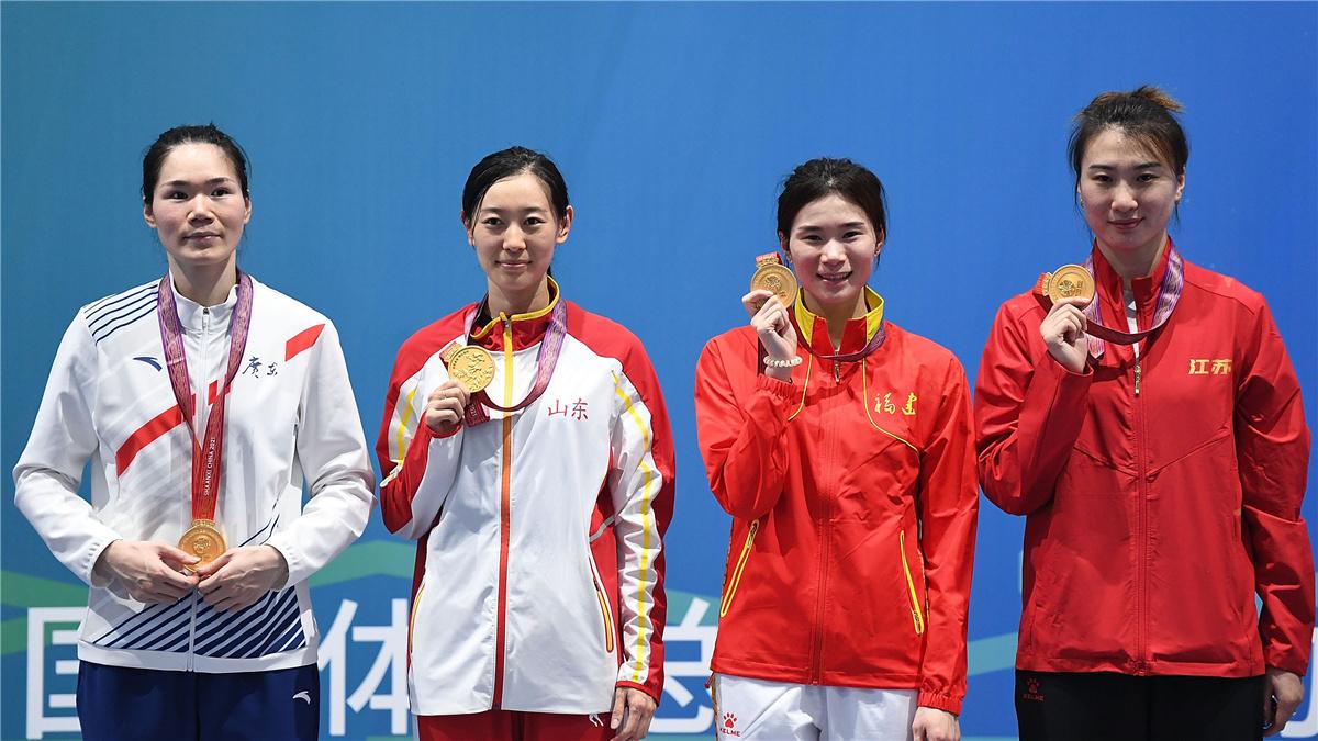全運會-擊劍女子重劍團體賽:聯合隊奪冠